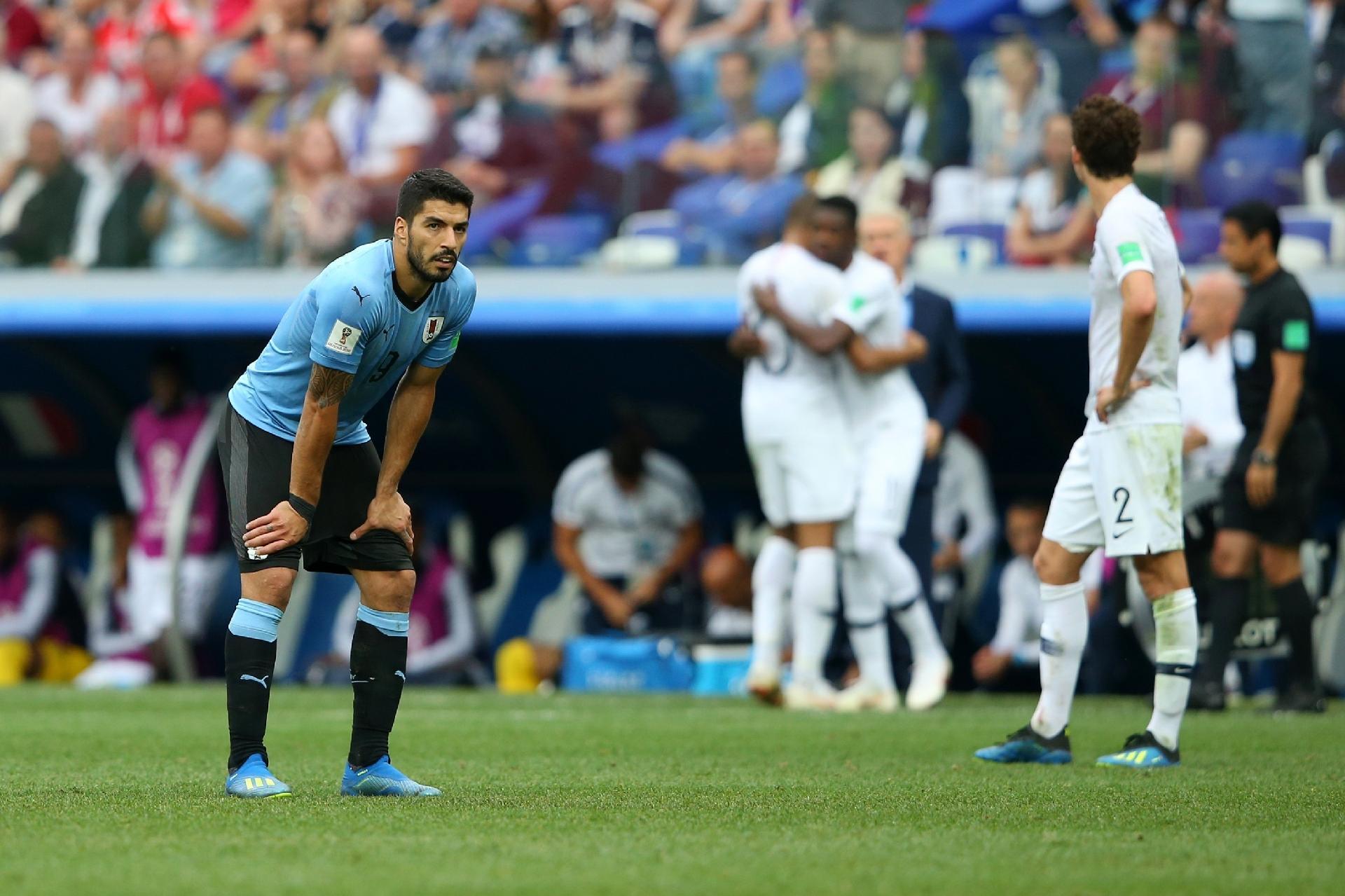 Copa do Mundo 2018  Suárez rejeita homenagens de Griezmann