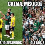 O México começou com tudo, mas por pouco não foi eliminado - Reprodução/Twitter