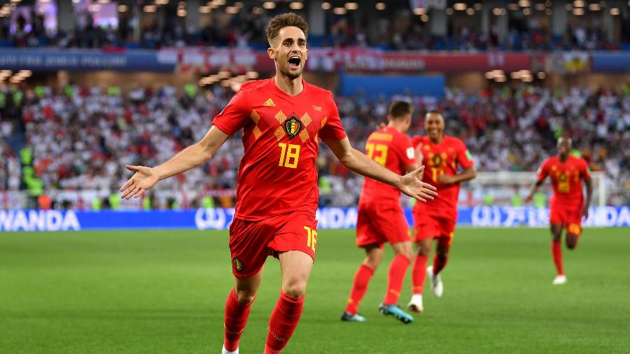 Adnan Januzaj comemora gol da Bélgica contra a Inglaterra - Dan Mullan/Getty Images