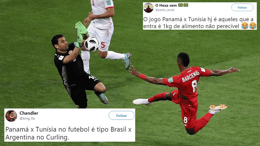 Quem disse que o jogo não valia nada? Com a derrota, o Panamá ficou na lanterna da Copa - Reprodução/Twitter