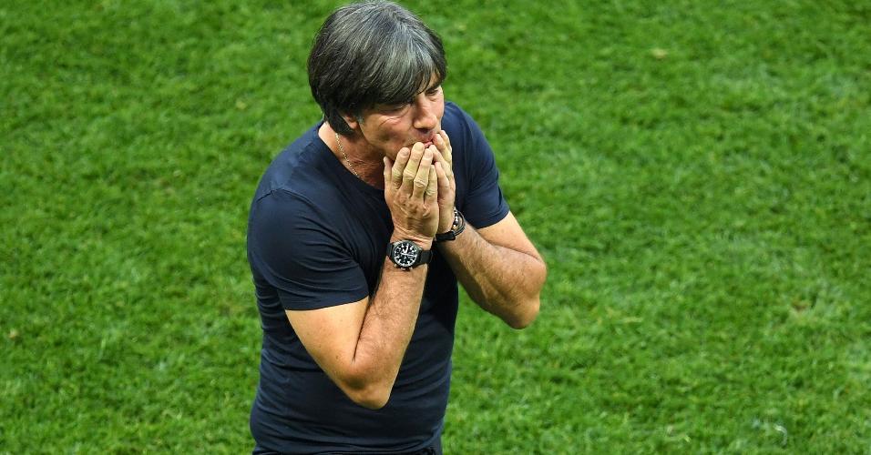 Joachim Löw, técnico da Alemanha, lamenta derrota para o México