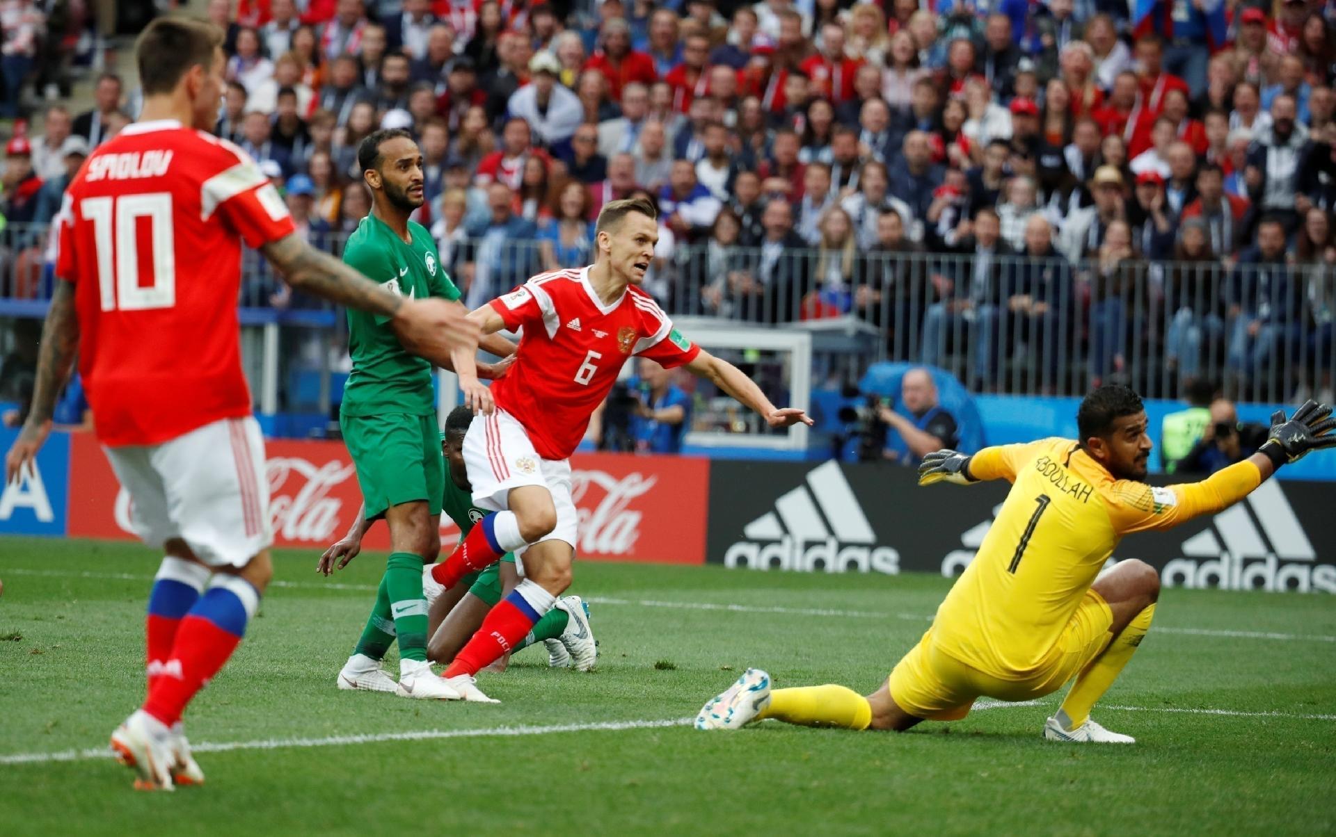 Copa do Mundo 2018  Com golaços 3bb021c19c561