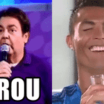 Ainda mais no dia seguinte à exibição de gala do Cristiano Ronaldo - Reprodução/Twitter