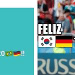 A zica da Alemanha começou quando o Toni Kroos tirou onda com o Brasil ao desejar feliz 2017 aos seguidores. Eles estavam confiantes demais... - Reprodução/Twitter