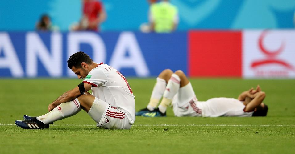 Morteza Pouraliganji lamenta eliminação do Irã após empate contra Portugal