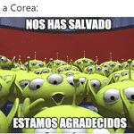 Os coreanos nem conseguiram se classificar, mas salvaram o México - Reprodução/Twitter