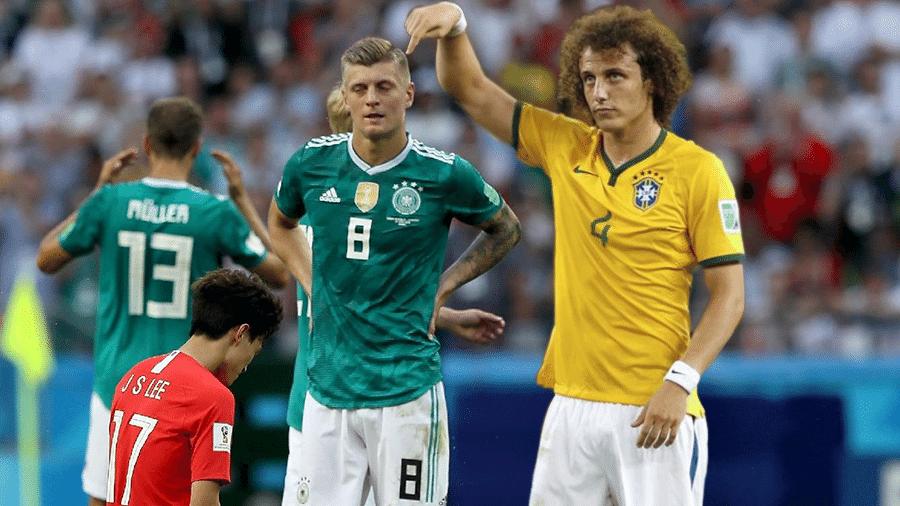 Meme Kroos David Luiz