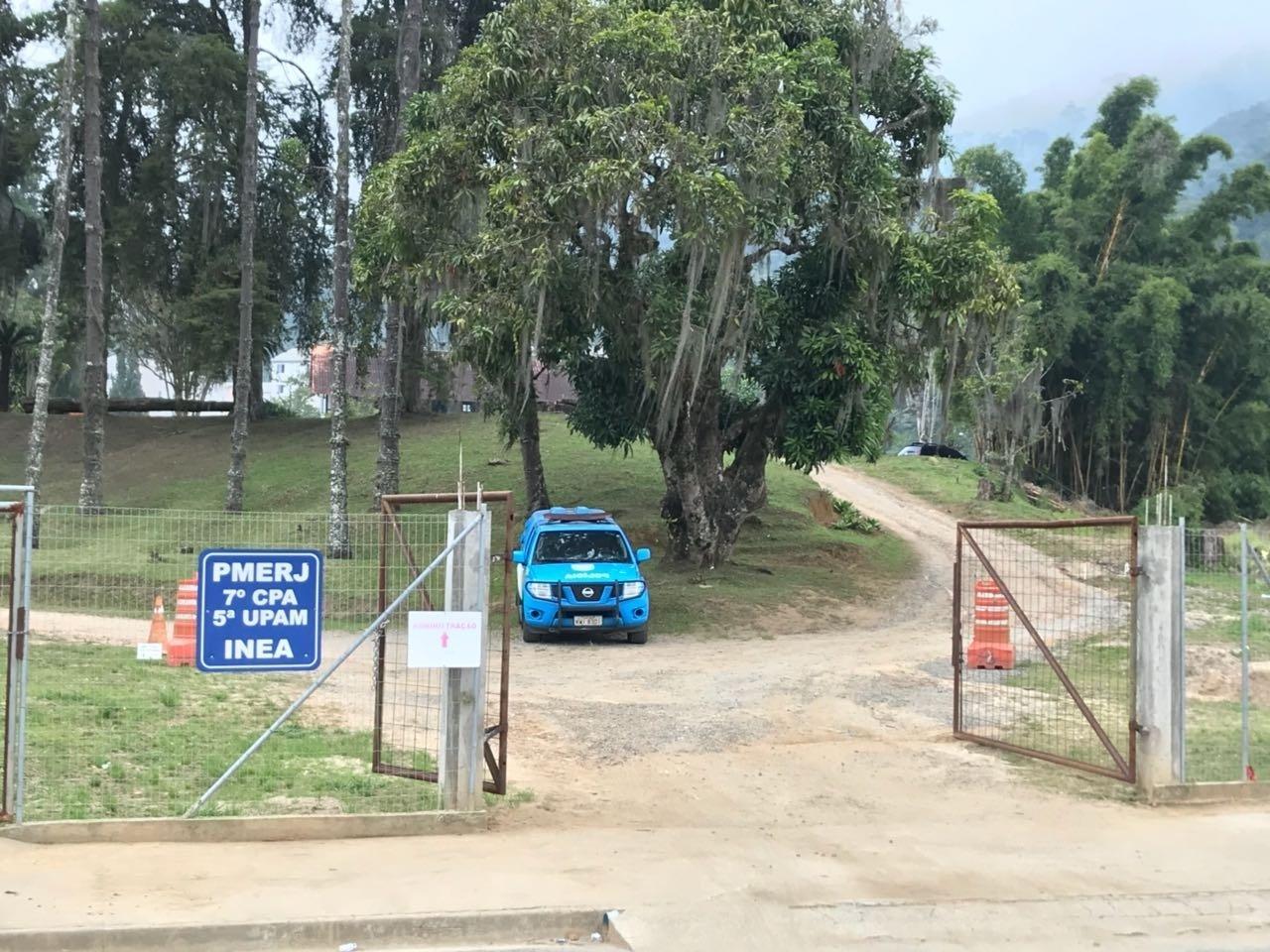 Nova área tem também um posto de polícia militar e ambiental