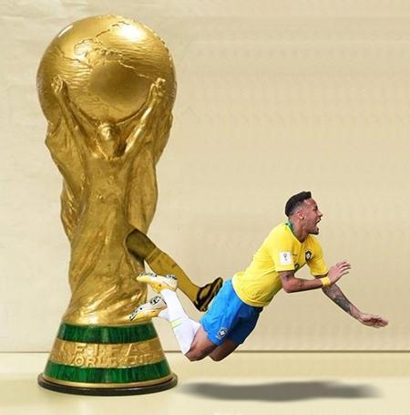 Fotos Da Copa 2018 Memes Não Perdoam Neymar Depois Da Queda