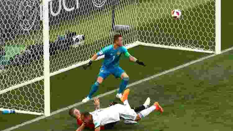 Gol contra Ignashevich - Oleg Nikishin/Getty Images - Oleg Nikishin/Getty Images