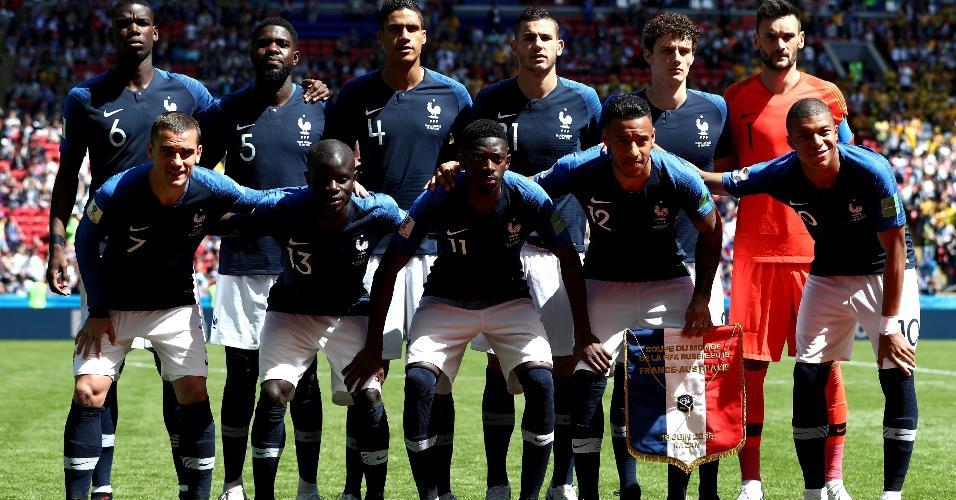 França montou seleção com várias estrelas para a disputa da Copa do Mundo