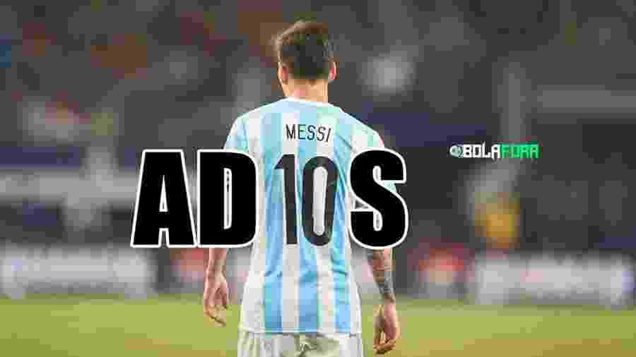 Messi bem que tentou, mas não conseguiu evitar a eliminação da Argentina nas oitavas de final contra a França - Reprodução/Twitter