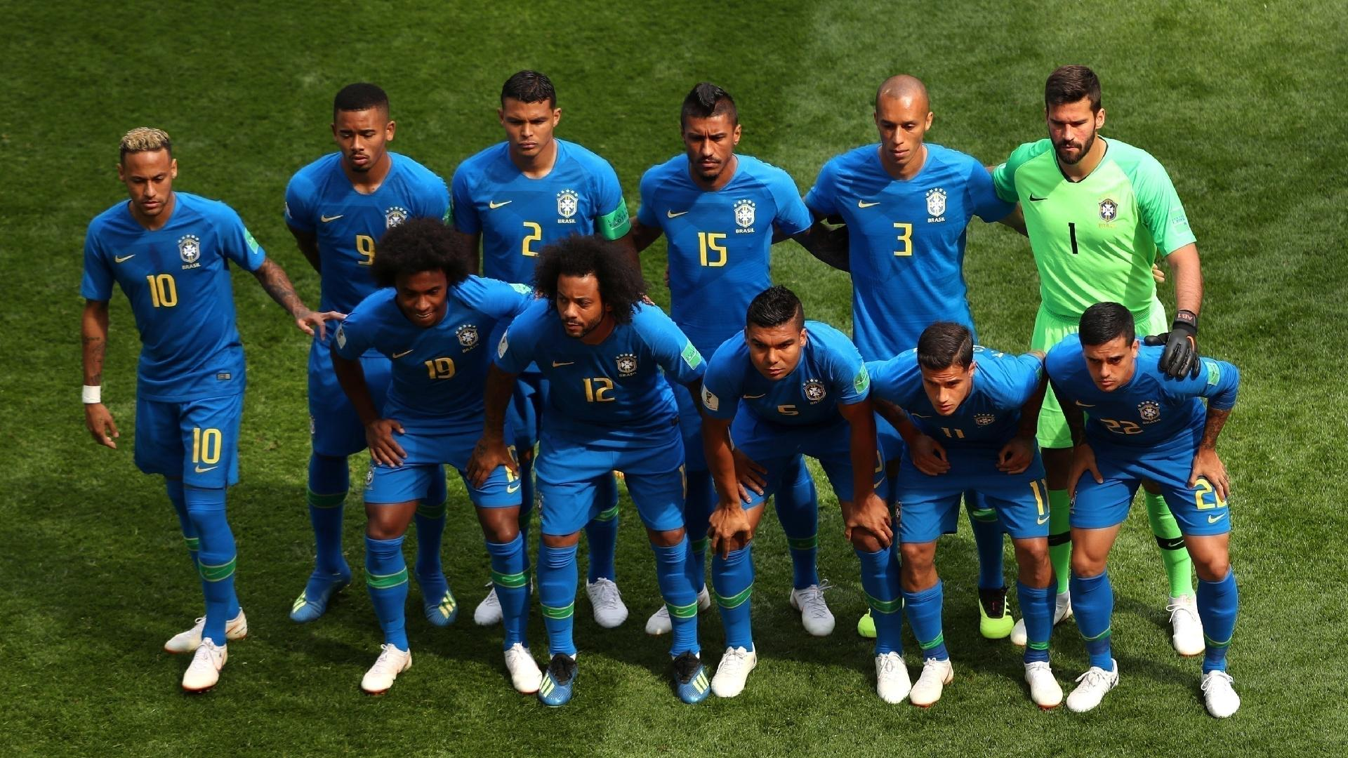 Seleção jogará inteiramente de azul contra a Costa Rica