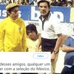 Para melhorar, os guerreiros mexicanos aprontaram uma dessas logo contra a Alemanha - Reprodução/Twitter