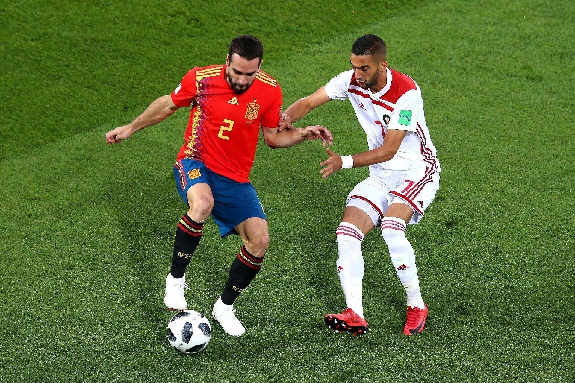 1083eea6a7 Espanha na Copa 2018  Carvajal exalta Lopetegui
