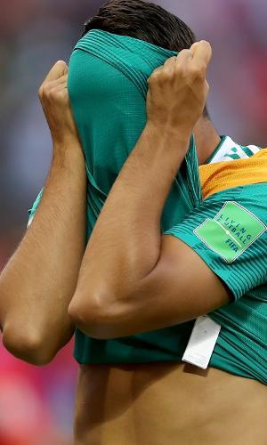 Khedira não se conforma com derrota da Alemanha contra a Coreia do Sul
