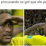 Apesar de não ter feito gol, Neymar foi um dos melhores jogadores do Brasil - Reprodução/Twitter
