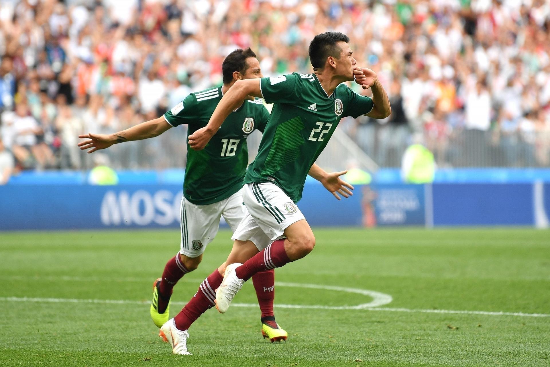 3ffaabea56a92 Copa do Mundo 2018  México surpreende Alemanha