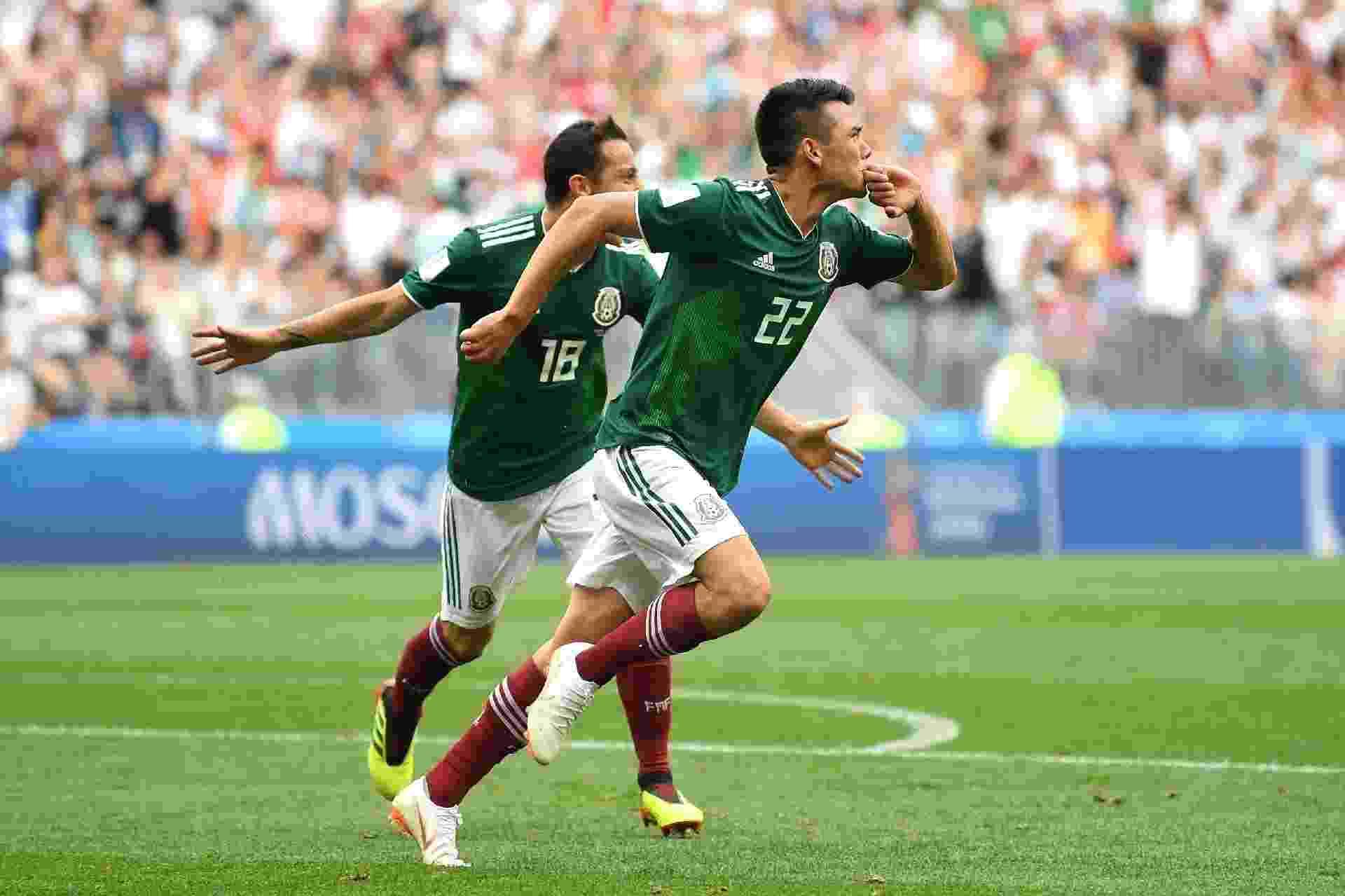 21b944f3b2 Copa do Mundo 2018  México surpreende Alemanha