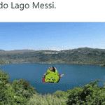 Messi é realmente um monstro, mas seu rendimento caiu depois do gol e a Nigéria empatou - Reprodução/Twitter