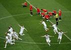 Eliminação da Espanha aumenta chance de finalista inédito na Copa do Mundo - Lavandeira Jr./EFE