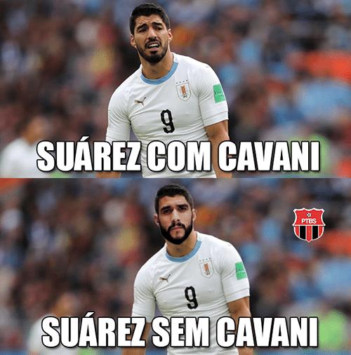 Meme Suárez Cavani Dourado