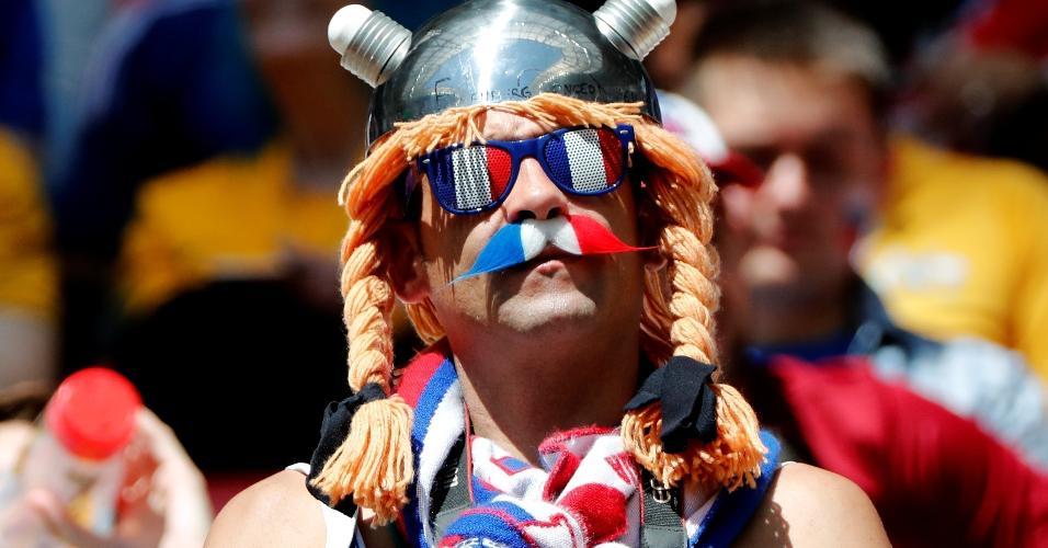 Torcida da França faz festa antes de duelo contra a Austrália