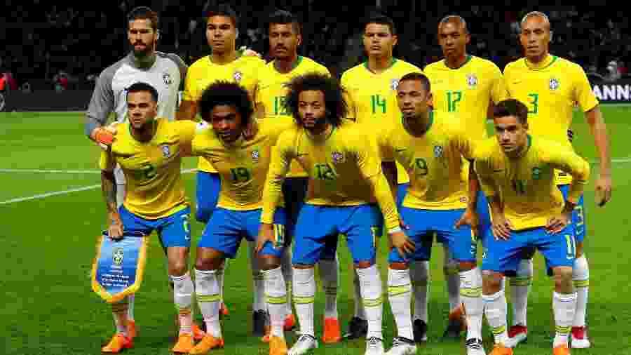 80efb94280 Ranking Fifa  Brasil segue atrás da Alemanha apesar de vitória em amistoso