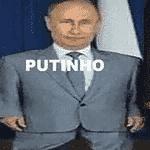 O presidente Putin estava empolgado com as vitórias e esperava mais um passeio - Reprodução/Twitter