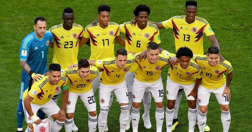 Seleção da Colômbia se prepara para enfrentar Senegal