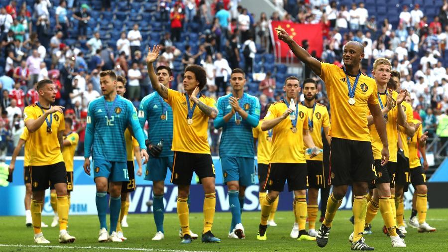 c978cd1e89 Bélgica se isola na liderança do ranking da Fifa  Brasil é o terceiro