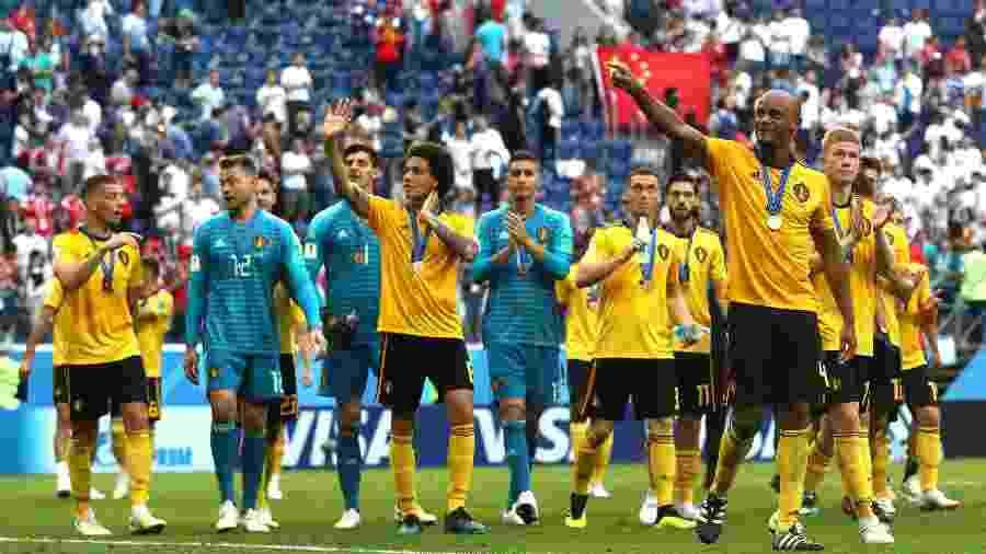 A Bélgica foi a terceira colocada da Copa do Mundo da Rússia - Getty Images