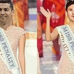 Messi perdeu um pênalti na estreia contra a Islândia e foi massacrado pela zoeira. CR7 também errou contra o Irã e levou na mesma dose - Reprodução/Twitter