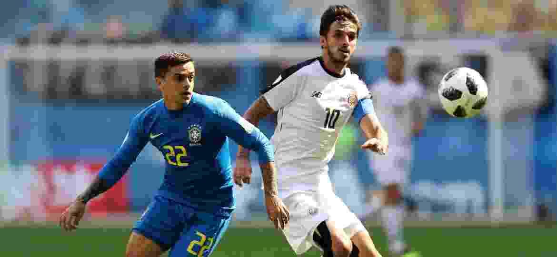 O lateral Fagner em lance da partida entre Brasil e Costa Rica Imagem   Getty Images 8d7ac17b42ef9
