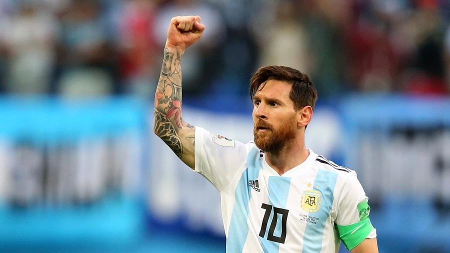 Para camisa 10, seleção argentina merecia a alegria da classificação às oitavas de final - Alex Livesey/Getty Images