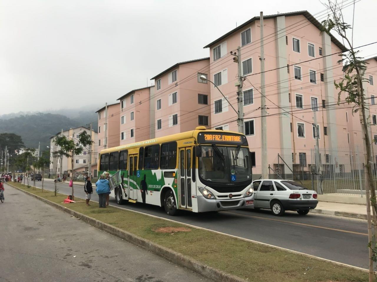 Área do Parque Residencial Ermitage ganhou linha de ônibus que leva moradores ao centro e a outros bairros de Teresópolis