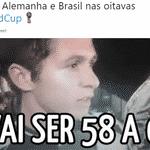Uma parte do torcedor brasileiro acredita que a seleção pode devolver o 7 a 1 - Reprodução/Twitter