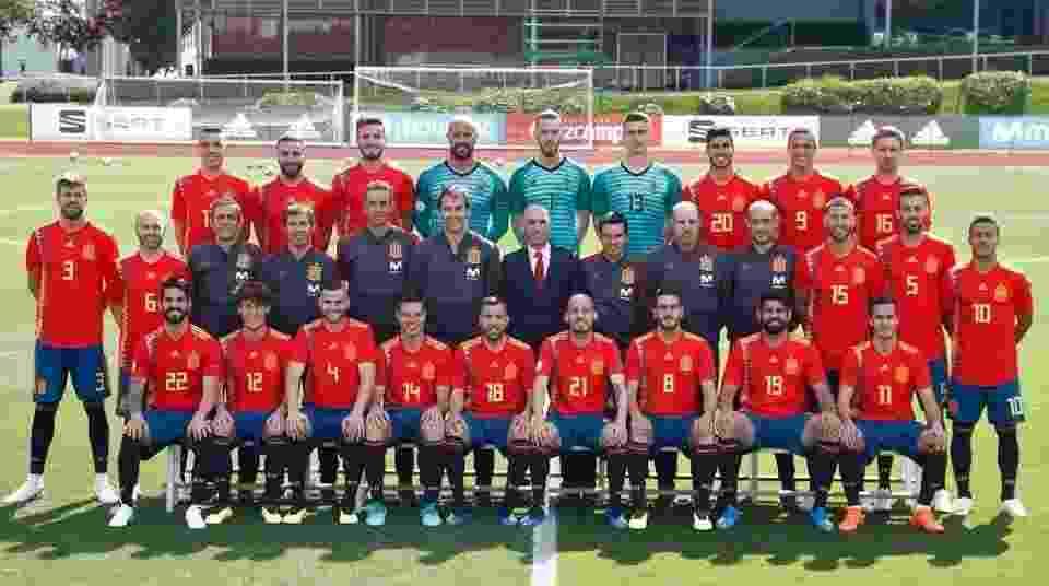 Fotos da Copa 2018  Elencos das seleções da Copa posam para foto ... 88b1378fff60f