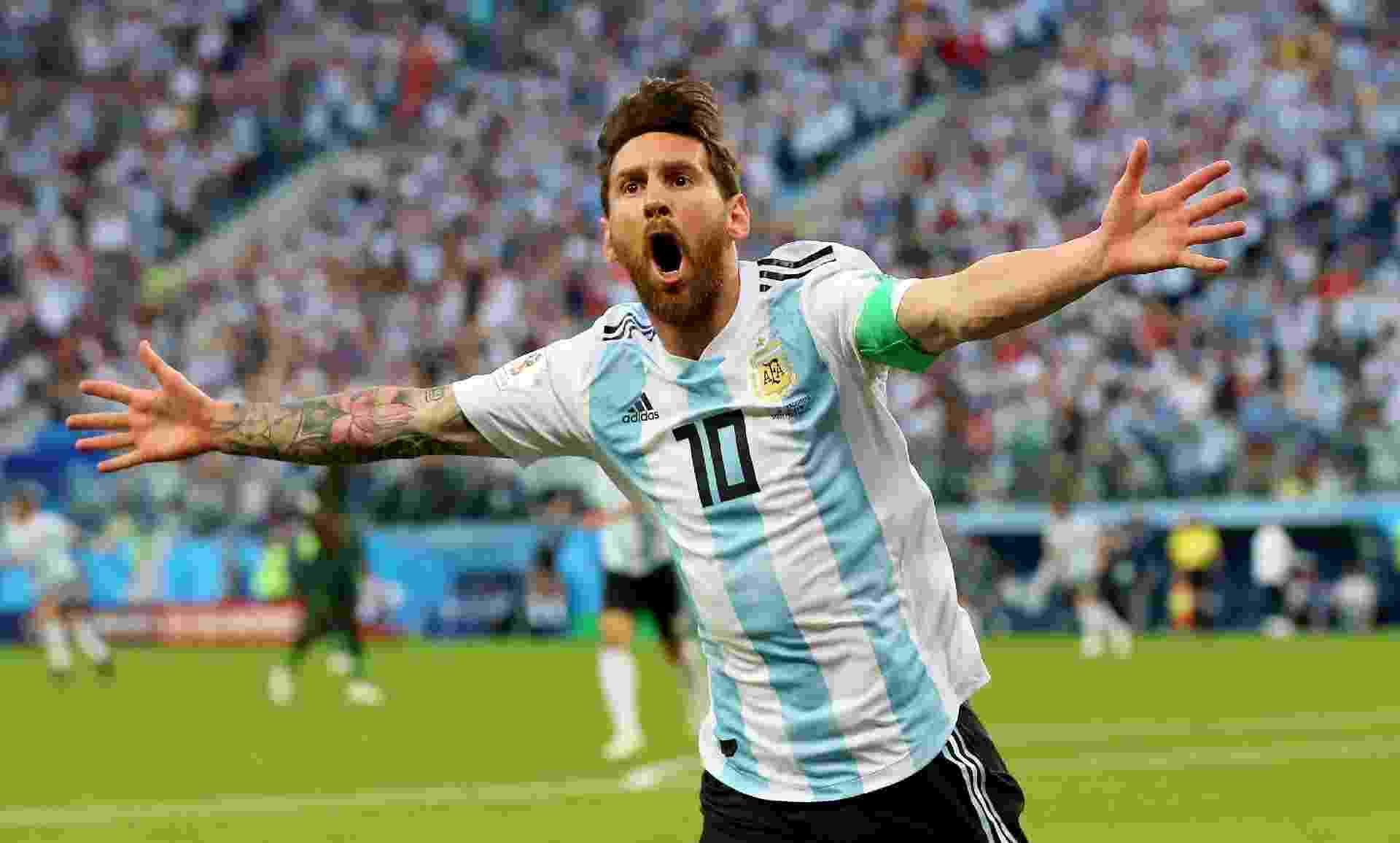 Copa do Mundo 2018  Golaço no fim salva Argentina 9c22d7b0cad69