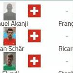 Para muitos, pegar a Suíça na primeira fase é motivo de comemoração - Reprodução/Twitter
