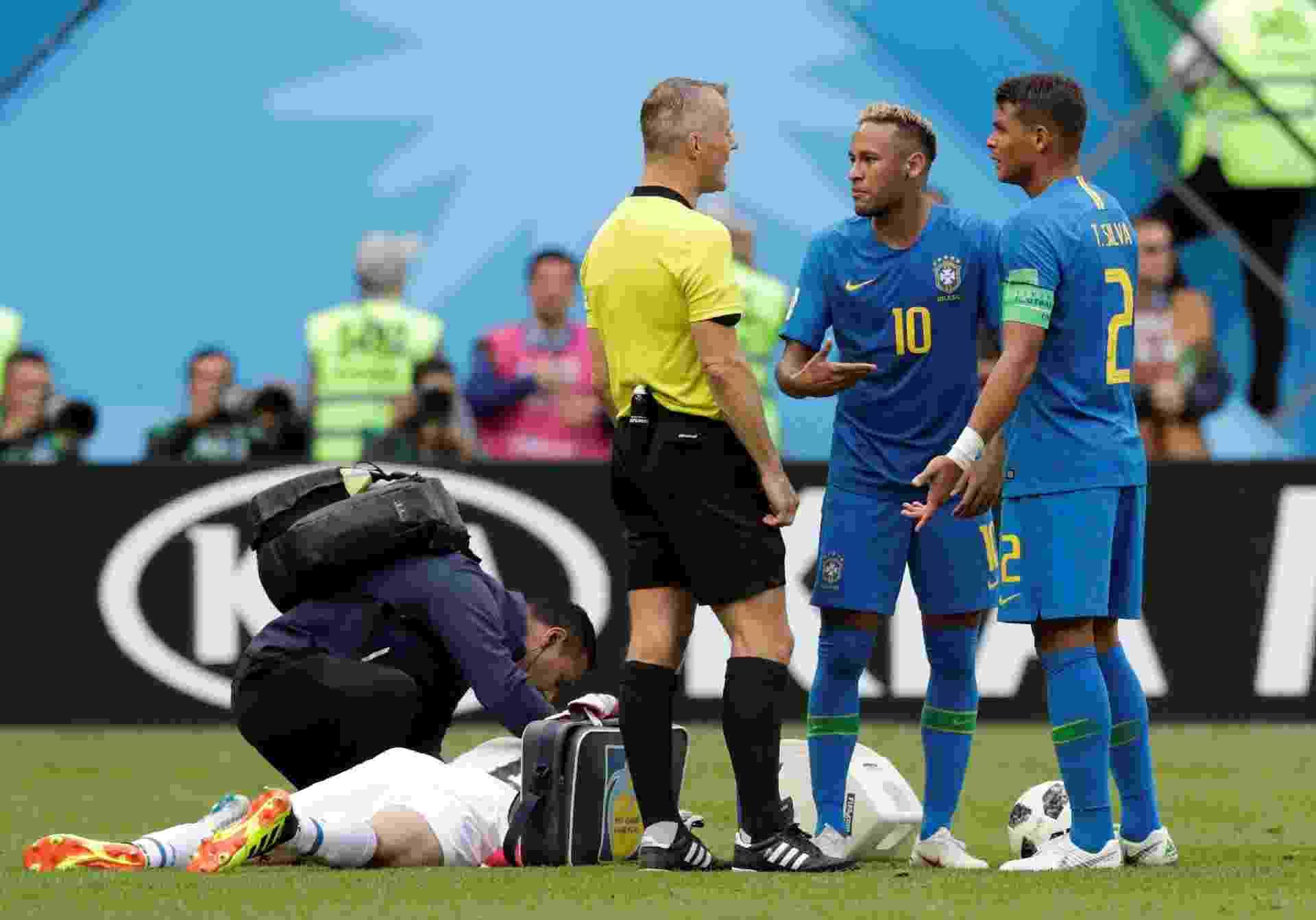 Thiago Silva revela bronca de Neymar e brinca  Fiquei triste que me ... ca11dbf7dd6bf