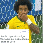 Já o lateral brasileiro fez o primeiro gol da Copa de 2014, mas a seleção acabou vencendo aquele jogo contra a Croácia - Reprodução/Twitter