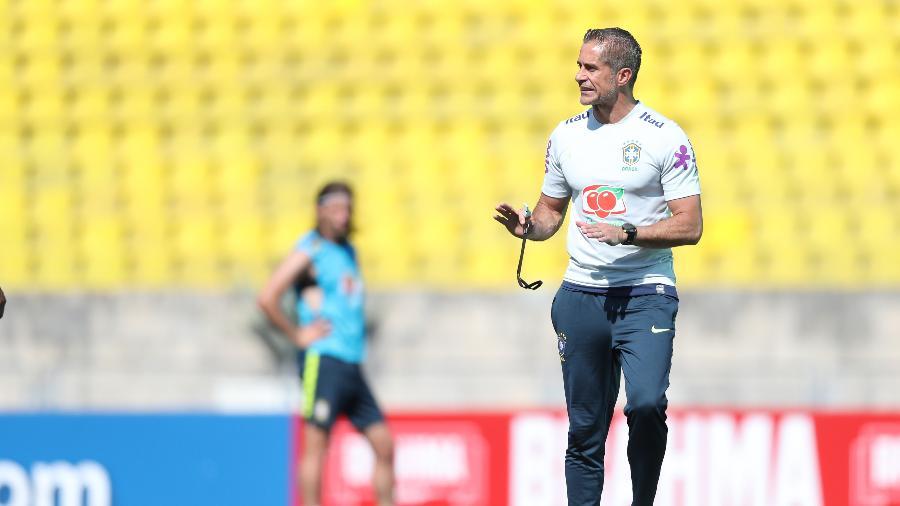 a2ad447b220 Seleção brasileira  Sylvinho será o técnico do Brasil na Olimpíada ...