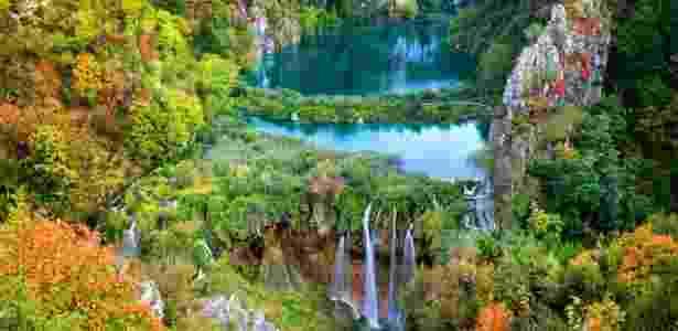 O parque ocupa uma área de quase 300 km² no centro da Croácia - Getty Images - Getty Images