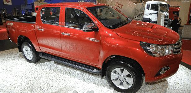 Toyota Hilux 2016 no Salão da Indonésia - Gaikindo Indonesia/Reprodução - Gaikindo Indonesia/Reprodução