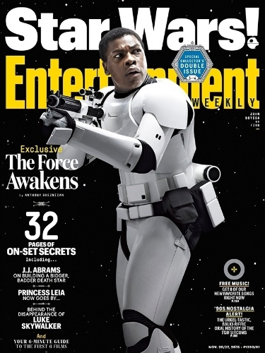 "11.nov.2015 - John Boyega, o stormtrooper Finn do novo ""Star Wars"""