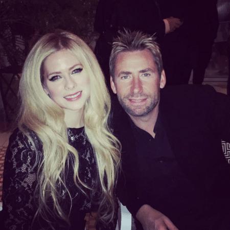 Avril Lavigne e o ex-marido Chad Kroeger - Reprodução/Instagram avrillavigne