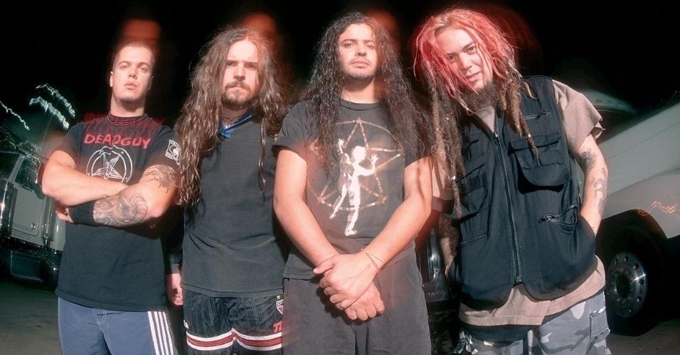 Sepultura durante aa turnê do álbum