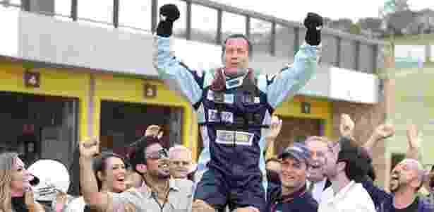 """Apolo (Malvino Salvador) é o campeão da temporada no último capítulo de """"Haja Coração"""" - Reprodução/GShow"""