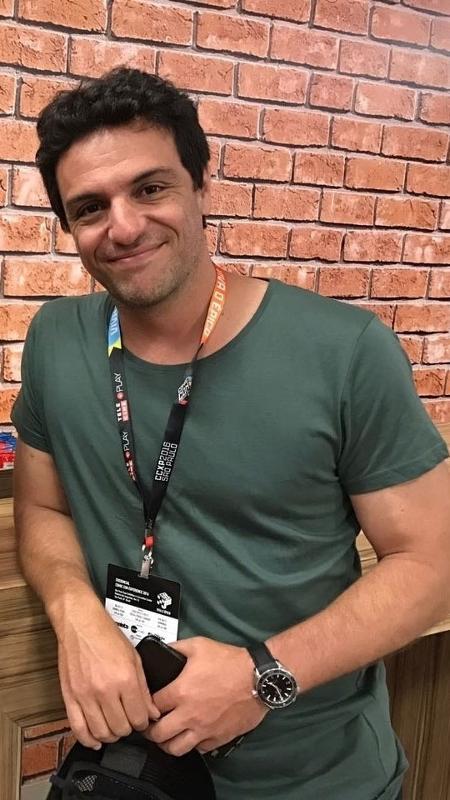 Ator Rodrigo Lombardi na Comic Con Experience 2016 - Felipe Cruz/UOL